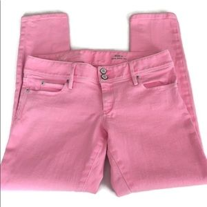 Lilly Pulitzer Pink Worth Skinny Mini Jeans